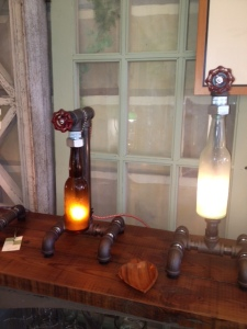 Interesting Lighting can be found at Paris Flea Market in Powell, Ohio