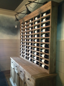 Wine Collection....R & H Dining Room