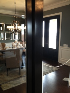 Loved the continuation of Tall Glass Doors throughout the house...Bob Webb House