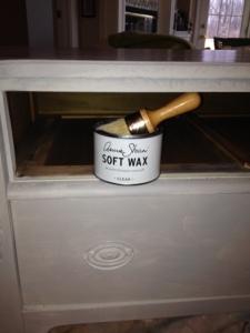 Use Annie Sloan's Soft Wax and Buff