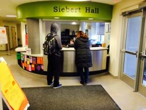 Siebert Hall, 11th Ave