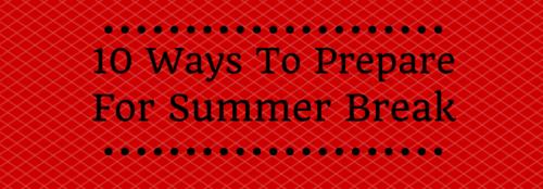 summer break - emma banner
