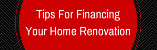 Tips For Financing Your Home Renovation - emma banner