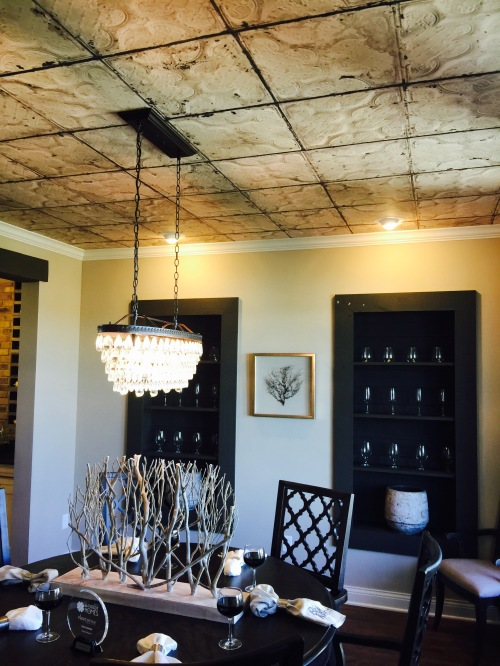 Dining Room Ceiling...interesting!